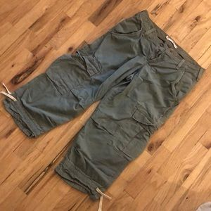 Joie cropped cargo pants